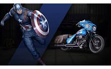 Видео: Мотоциклы Harley-Davidson в образе супергероев