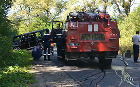 Покушение и убийство: Во Львовской области взорвали автомобиль местного бизнесмена