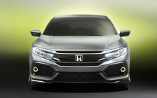 Новое поколение Honda Civic покажут в рамках Парижского автосалона