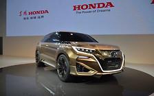 Новый купеобразный кроссовер Honda заметили в Китае