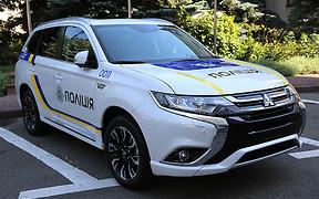 Для полиции закупят 651 гибрид Mitsubishi Оutlander PHEV