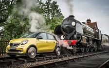 Голубой вагон бежит-качается: на поезде с автомобилем