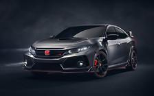 Парижский автосалон 2016: Honda показала, как будет выглядеть новый Civic Type R