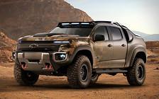 По призыву: Водородный пикап Chevrolet Colorado будет служить в армии США
