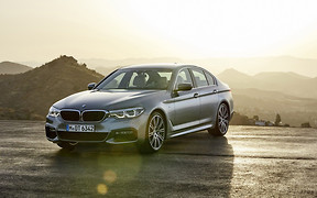 Новый седан BMW 5 Серии представлен официально