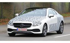 Новое купе Mercedes-Benz E-Class уже на дорогах