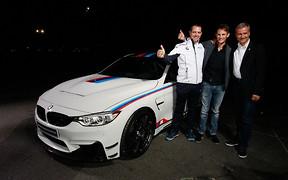 BMW посвятило своему чемпиону трековый спорткар