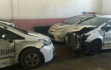 Куда уходят битые полицейские Приусы
