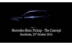 Видео: Mercedes-Benz разогревает публику перед презентацией пикапа