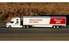 Важный груз: Беспилотный грузовик Volvo провез 50 000 банок пива