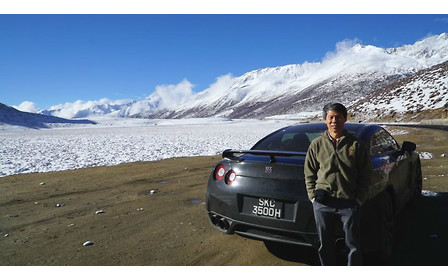 Nissan GT-R поднялся на Эверест