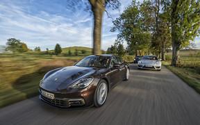 Техника на грани: Тест-драйв Porsche Panamera New