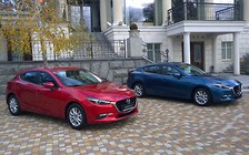 В Киеве представлены обновленные Mazda 3 и Mazda 6