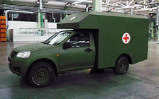 Санитарный Богдан-2251 заменит устаревшие УАЗы