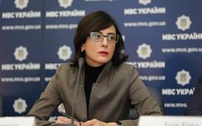 Глава Национальной полиции Украины Хатия Деканоидзе подала в отставку