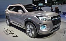Большой внедорожник Subaru представят в 2018 году