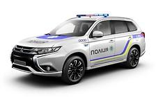 Гибриды Mitsubishi Outlander передадут региональным подразделениям полиции
