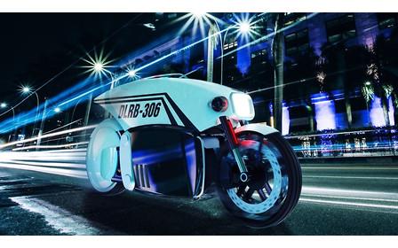 В Канаде придумали беспилотный мотоцикл