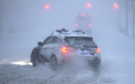 ВНИМАНИЕ: Снегопады и гололед в пятницу!