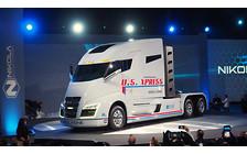 1900 км на одном баке: В США представили водородный грузовик