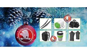 Подарочное настроение от SKODA. Скидки от 20% до 30% на оригинальные аксессуары и сувенирную продукцию.