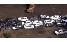 Видео: 120 новеньких BMW уничтожены в одной аварии