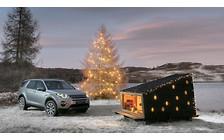Видео: Компания Land Rover построила мобильный дом для Санта Клауса