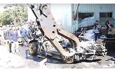 Видео: Суперкара Lamborghini Murcielago... казнили четвертованием!