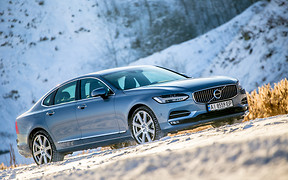 Король Севера: Тест-драйв Volvo S90