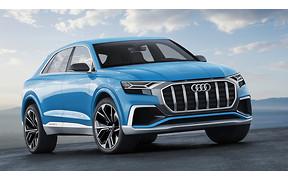 Гигант от Audi: Компания показала свой самый большой кроссовер Q8