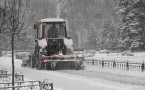 За уборкой снега в Киеве можно следить онлайн