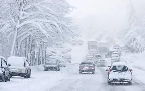 ВНИМАНИЕ! На ряде автодорог Украины движение транспорта снова ограничено.