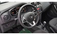 Обновленный Renault Logan: Вид изнутри