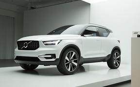 Volvo готовится к дебюту кроссовера XC40