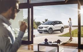Экстремально крутой: Opel представляет абсолютно новый кроссовер Crossland X