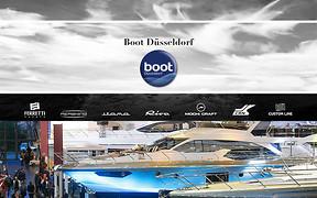 Безупречный стиль Ferretti Group на Boot Dusseldorf