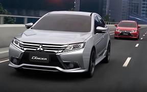 Обновленный Mitsubishi Lancer показали на видео