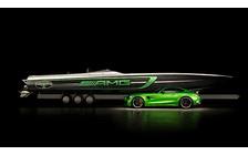 Свистать всех на Мерс! Купе Mercedes-AMG GT R уходит в море