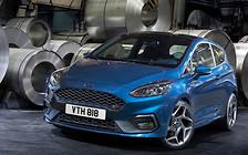 Новый Ford Fiesta ST: Три цилиндра и 200 лошадиных сил