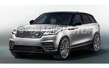 Что покажут в Женеве: Новый кроссовер Range Rover Velar уже рассекретили