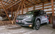 Тест-драйв Honda Pilot: Здоровяк, но не увалень
