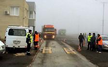 Вернуть весы: Водители «фур» блокировали трассу Киев-Одесса