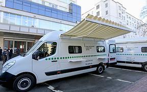 В Украине начали работать мобильные сервисные центры МВД