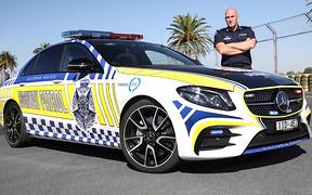Полиция Австралии пересела на «заряженные» Mercedes-AMG E43