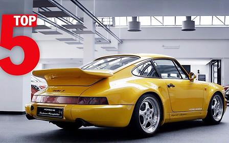 Видео: Porsche представила топ-5 своих лучших эксклюзивных спорткаров