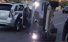 Беспилотник Uber попал в ДТП и перевернулся