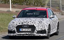 Новый Audi RS4 Avant заметили возле Нюрбургринга