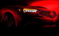 """Новый седан Acura TLX """"засветился"""""""