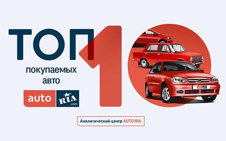 Выбор украинцев: Топ-10 покупаемых автомобилей в первом квартале 2017 года
