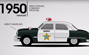Видео: Ford показал 67-летнюю эволюцию полицейских машин за 1 минуту